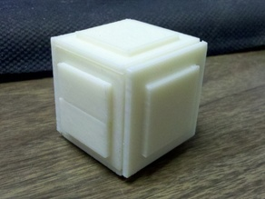 Black Nightmare Puzzle Box
