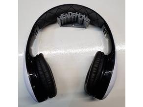 Headphone Wall Holder #3