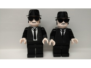 Giant Lego Blues Brothers