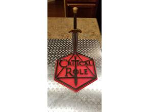 Critical Role Coaster With Dagger