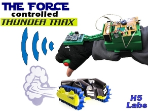"""The Force"" controlled RC Thunder Trax"