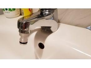 Gardena adapter for bathroom tap