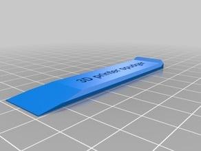 3D printer spudger