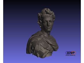 Julius Caesar Bust (3D Scan)