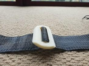 Variometer strap buckle