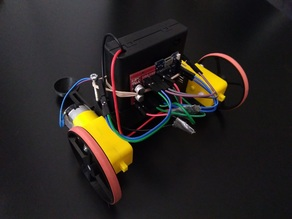 Remote Control Robot Kit for Arduino Beginners - 3D Printed Parts