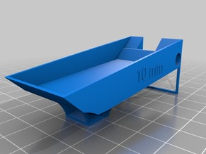 A 3-D-printable plastic trough for serial semithin sectioning