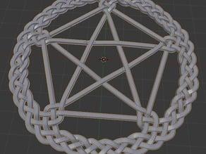 Knotwork Star Decoration