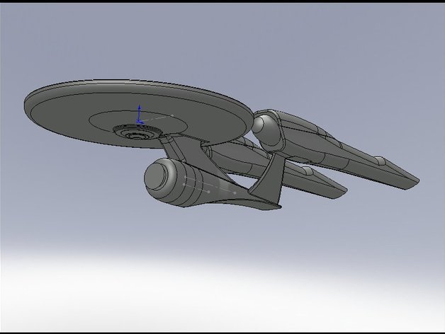 Star Trek 2009 Enterprise By JackSpectre Feb 29 2012 Thingiview