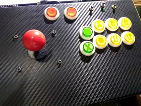 Zero delay arcade board mount