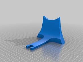 Modified 3D Printable Jet Engine Stand