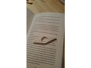 Book ring with cat ears