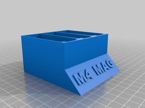 M4 mag stand (Airsoft High Cap)