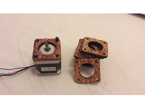 Cork NEMA 17 dampers [LaserCut]