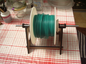 quick change filament spool holder for different shape of spool
