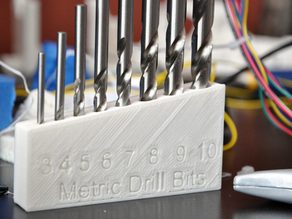 Metric Drill Bit Index