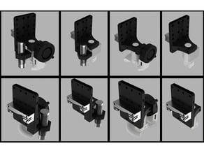Anet A8 e3d v6 Bowden Print Carriage Redux