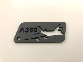 A380 Keychain