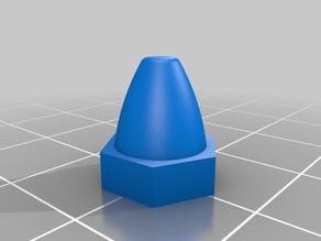Motor Cap - 6mm Shaft