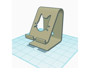 mStand inspired Phone stand - Cat Version