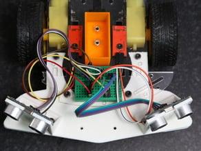Bumper for smart robot arduino car