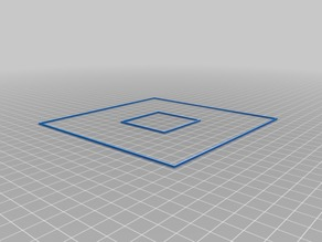3d Printer Bed Calibration Model for Ender 5