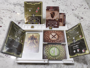 MagBox Dashboard and Storage for Gloomhaven