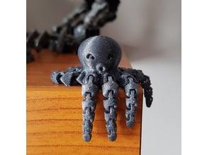 Cute Mini Octopus filled