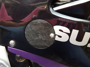 Suzuki GSX600f oil cover
