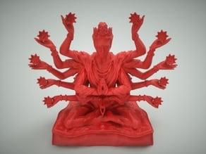 Indian Meditating God
