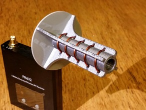 5 turn Helical FPV antenna (5.8 GHz)