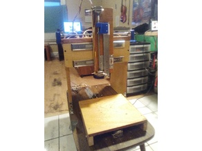 The Lazy And Poor Person's Homebuilt CNC Machine