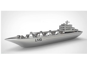 LNG Vessel Miniature
