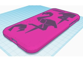 Iphone 7 plus flamingo case