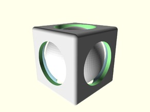 Customizable Trapped Sphere