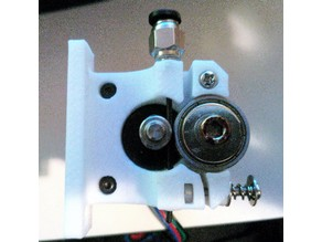 Compact Bowden Drive Extruder M6 Push Fitting
