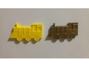 Toy Train (Fridge magnet)