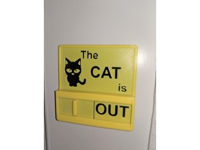 Cat In/Out Board