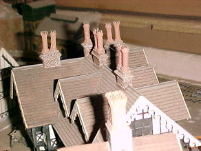 SCALEPRINT CHIMNEY POTS PART 2 00/HO SCALE