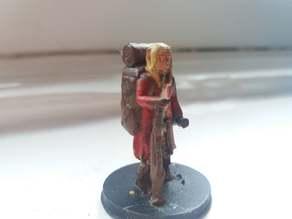 Elven traveling merchant