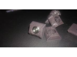 M2.5 nut adapter for use with 2020 aluminium profile