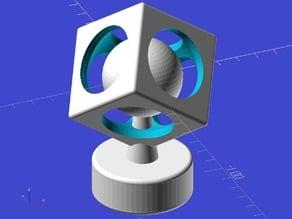 Ekobots - The sphere in cube.