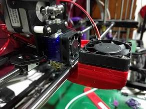 Rigidbot Single E3D V6 MK8 Part Fan Mount