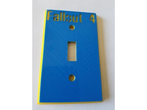 Fallout 4 Light Switch Cover Plate