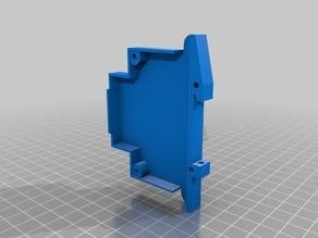 DIN-rail enclosure for WEMOS D1 mini