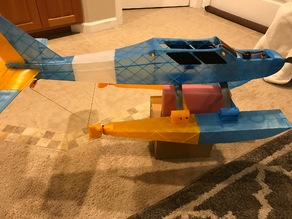 RC Airplane Floats for QTrainer