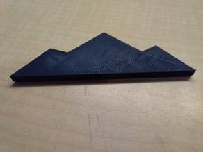 dine symbol - mountain