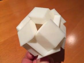 Expanding box puzzle