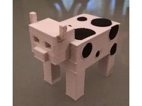 Minecraft(ish) Cow