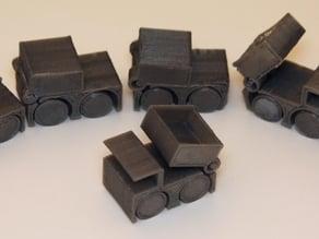 Tiny Toy Dump Truck